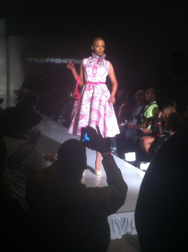 A Dom Streater design, winner of Project Runway season 12