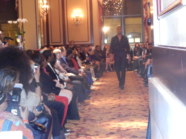 It was a full house at the Philly Fashion Week 2014 luxury menswear show.