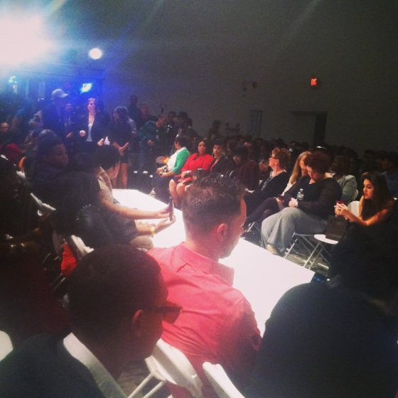 The crowd at Philly Fashion Week 2014