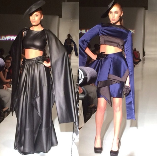 From Nicci Hou's Instagram account. Nicci Hou Philly Fashion Week 2014