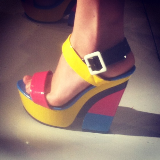 Also loving these candy-like chunky wedges