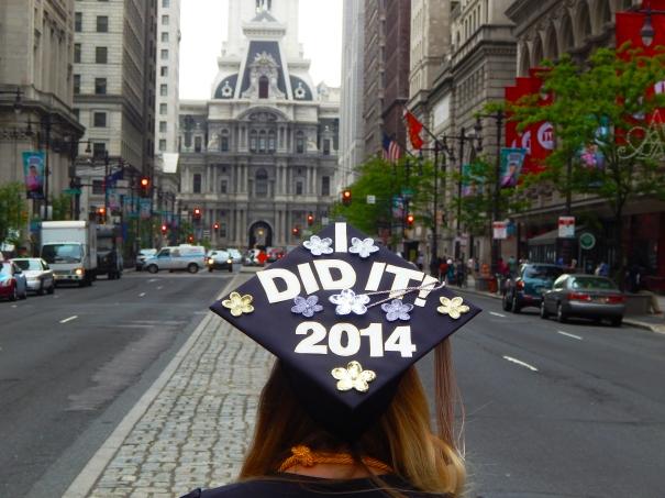 katelyn elisabeth graduation day decorated cap