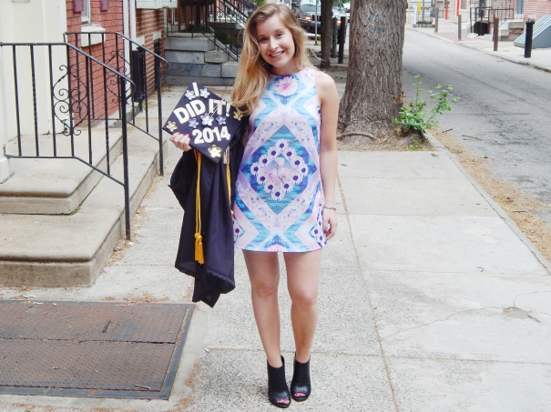katelyn elisabeth graduation day outfit of the day