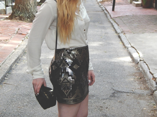 Katelyn Elisabeth Outfit of the Day - Swanky Sequins