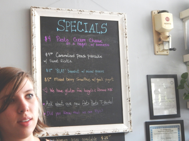 Katelyn Elisabeth - Ants Pants Cafe Specials