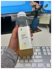 2 jus by julie spicy lemonade
